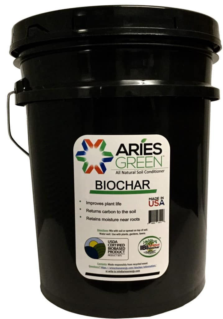 Aries Biochar 5 Gallon Plastic Bucket